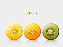包装设计练习--OFruit果味润唇膏