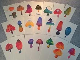 一天画一蘑菇,21天成习惯。