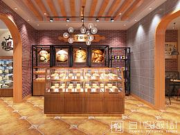 西安伯爵工房蛋糕店设计