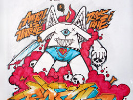 ROCS'GRAFFITI SKETCH BOOK