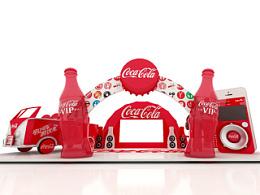 可口可乐体验站