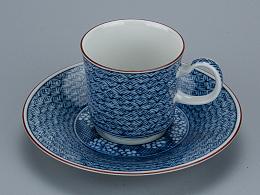 青花Espresso咖啡杯
