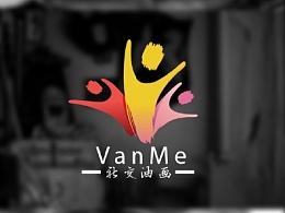 VanMe油画社交logo
