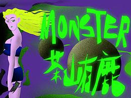 Monster Energy,野野野人人人!!!!!By 茶山有鹿