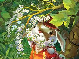 小老鼠和小兔子