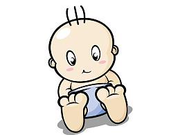 临摹可爱宝宝
