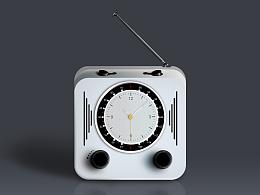 百图斩P10-图标练习-收音机闹钟图标
