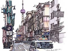 《上海》手绘合集