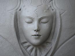 Blender动态雕刻极限测试作品-双生头骨