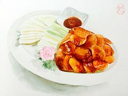 老北京系列之北京烤鸭