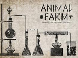 动物庄园系列插画——实验室