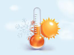 温度计临摹