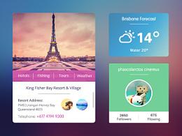 app天气界面