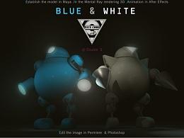 蓝与白 NICE COOL blue&white