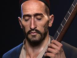 Uyghur Muqam singer