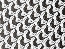 《喜鹊.鹈鹕》《黑天鹅.白马》