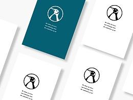 企鹅文化科技logo设计及VI设计