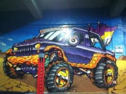 涂鸦永远是改装车的好伙伴