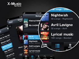 X-MusicPlayerDesign