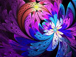 分形(Fractal)二十九辑: 繁盛如叶,华美如花。
