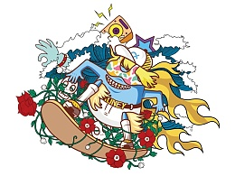 九斗鱼 周年庆图案伴手礼设计