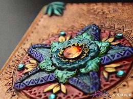 原创软陶笔记本-魔法阵