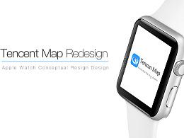 腾讯地图redesign iwatch版
