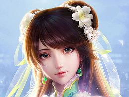 诛仙3的同人画碧瑶