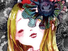 《爱绘生活--12位插画师教你玩转插画》作品欣赏--董小瑾到此一游