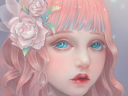 粉色洛丽塔