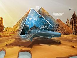 沙漠金字塔鲸