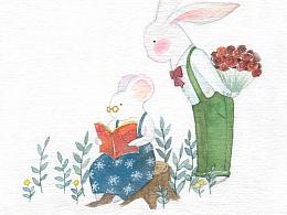 兔鼠一家亲
