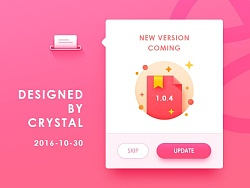 Practices for Dribbble by 雨木木Crystal