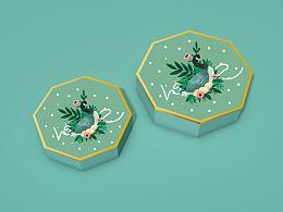 喜饼包装设计