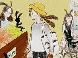 超市神秘兔