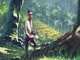 【在路上】_去那潘神的迷宫