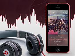 ECHO音乐 for iPhone (IOS平台应用设计)