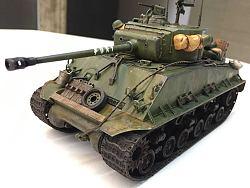 1:35谢尔曼坦克涂装处女座