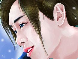《九州天空城》手绘