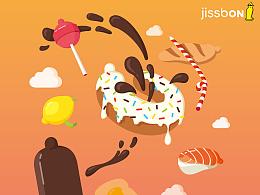 JISSBON——恋爱季特别包装