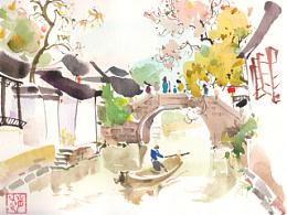 宏村·周庄       四月写生