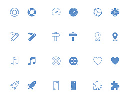 300Tab Bar Icons for iphone and ipad