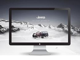 汽车类的商业广告设计练习