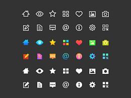 APP设计用过的小icon