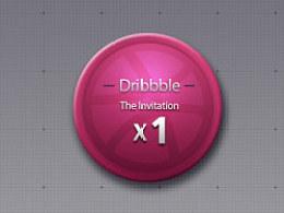 一枚Dribbble邀请码