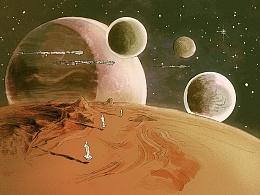 儿童科幻电影概念设计