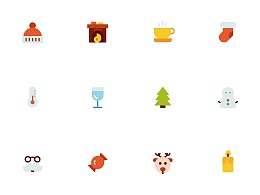 动效设计丨Christmas Icons Animation