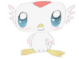 飞鹤卡通形象设计-哈尼