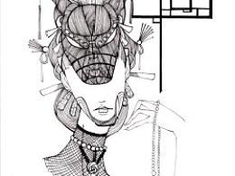 JAMU时尚插画:发丝的艺术(6)