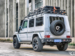 《侣行》第三季探险车辆 270的G500